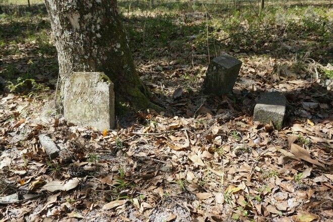 Mount Carmel Church and Cemetery in Pasco County Abandoned.