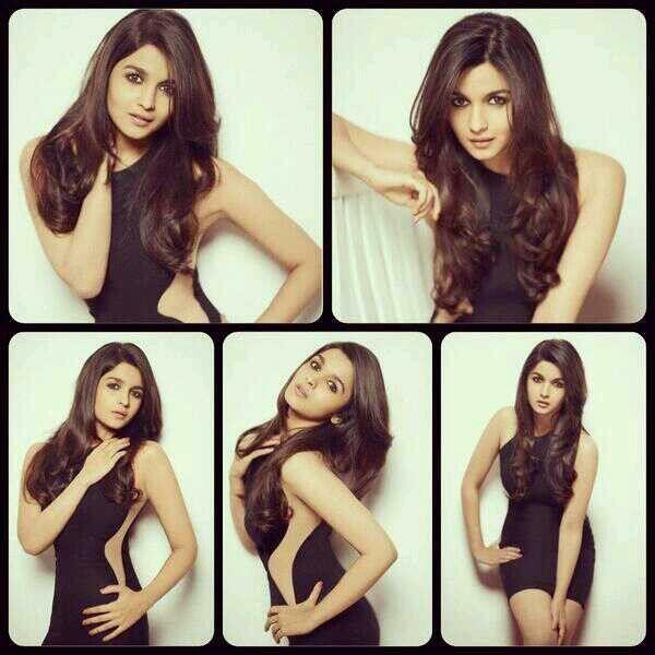 Alia Bhatt love her hair