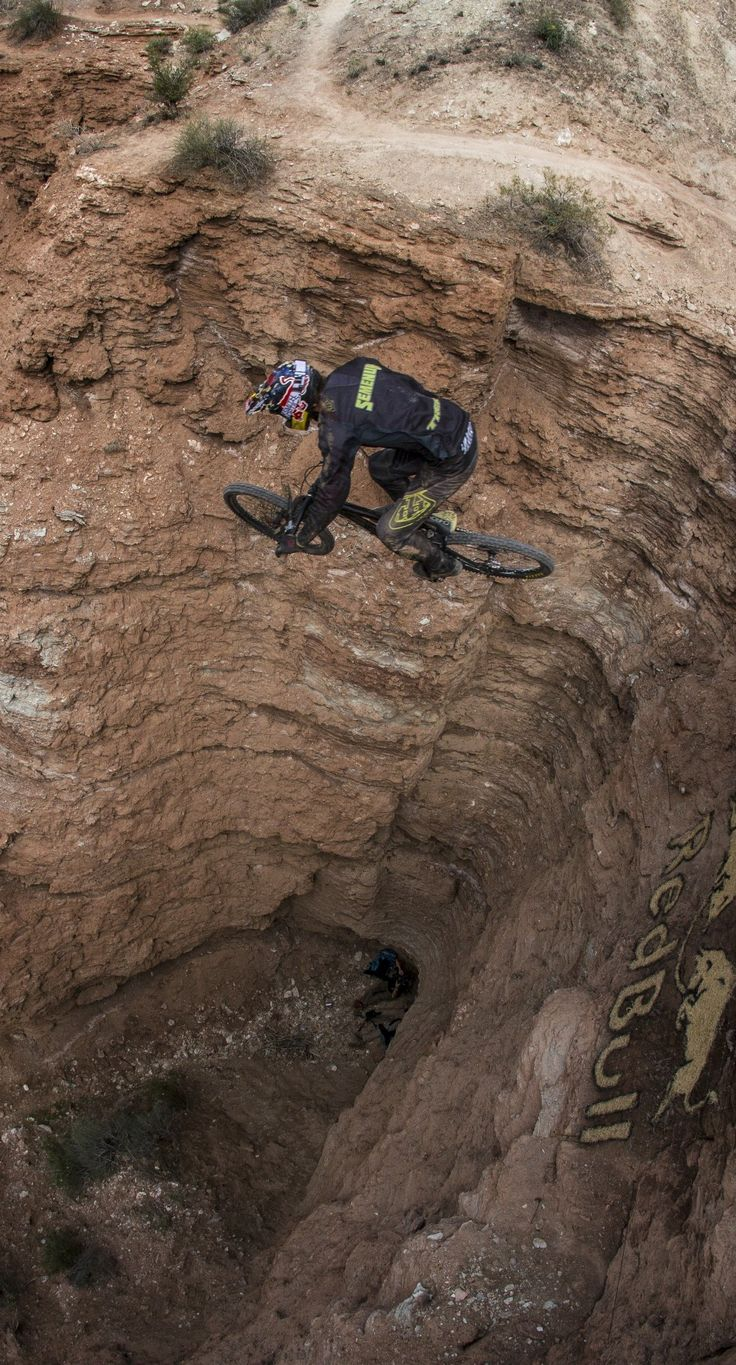 Now that's a sniper landing. #Rampage #Bike