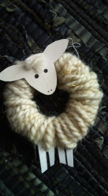 Cute lost sheep craft