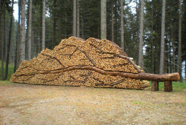 Holz stapeln wie ein Profi