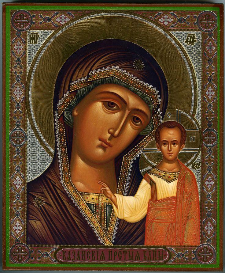 Image detail for -Religious Orthodox icon: Theotokos of Kazan - 3 - Istok Church ...