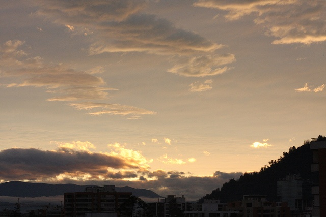Santiago clouds. Pretty sure this is where heaven is.