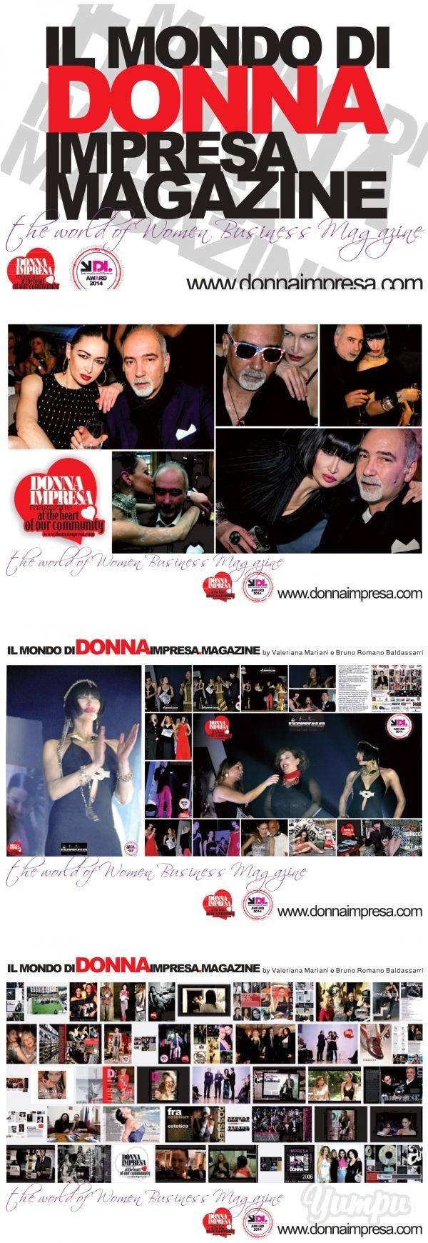 IL MONDO DI DONNA IMPRESA 2015 since 2006 - Magazine with 13 pages: Il Mondo di…