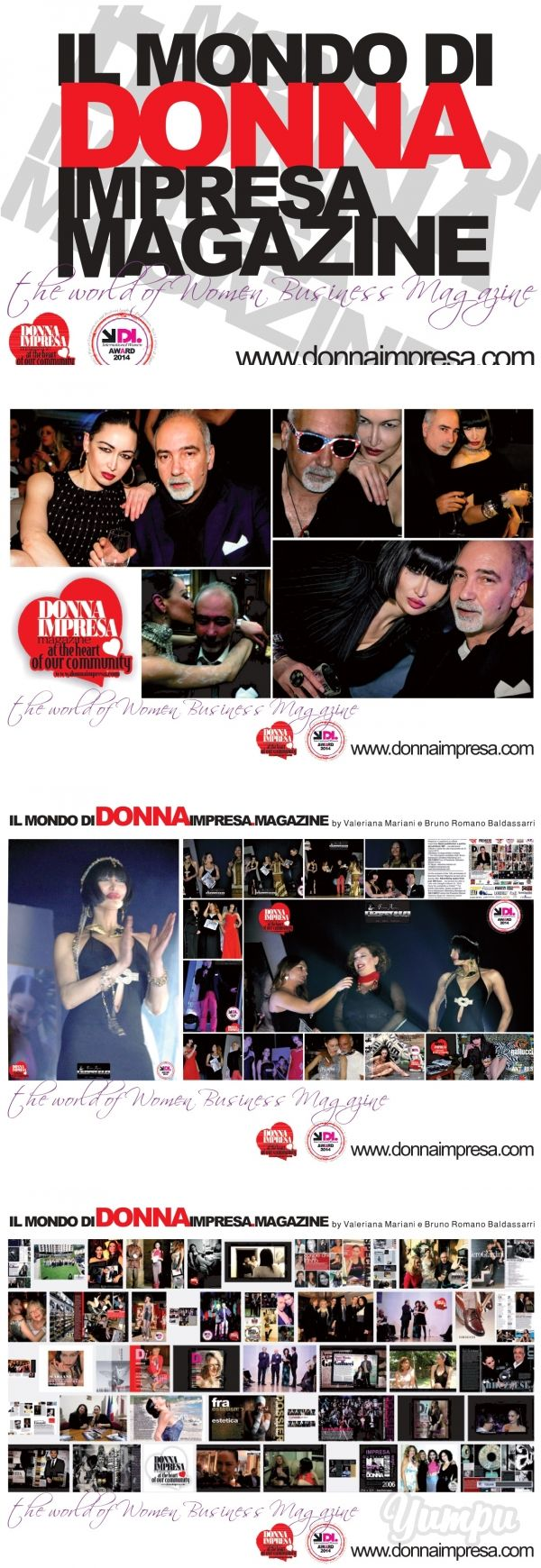 IL MONDO DI DONNA IMPRESA 2015 since 2006 - Magazine with 13 pages: Il Mondo di…