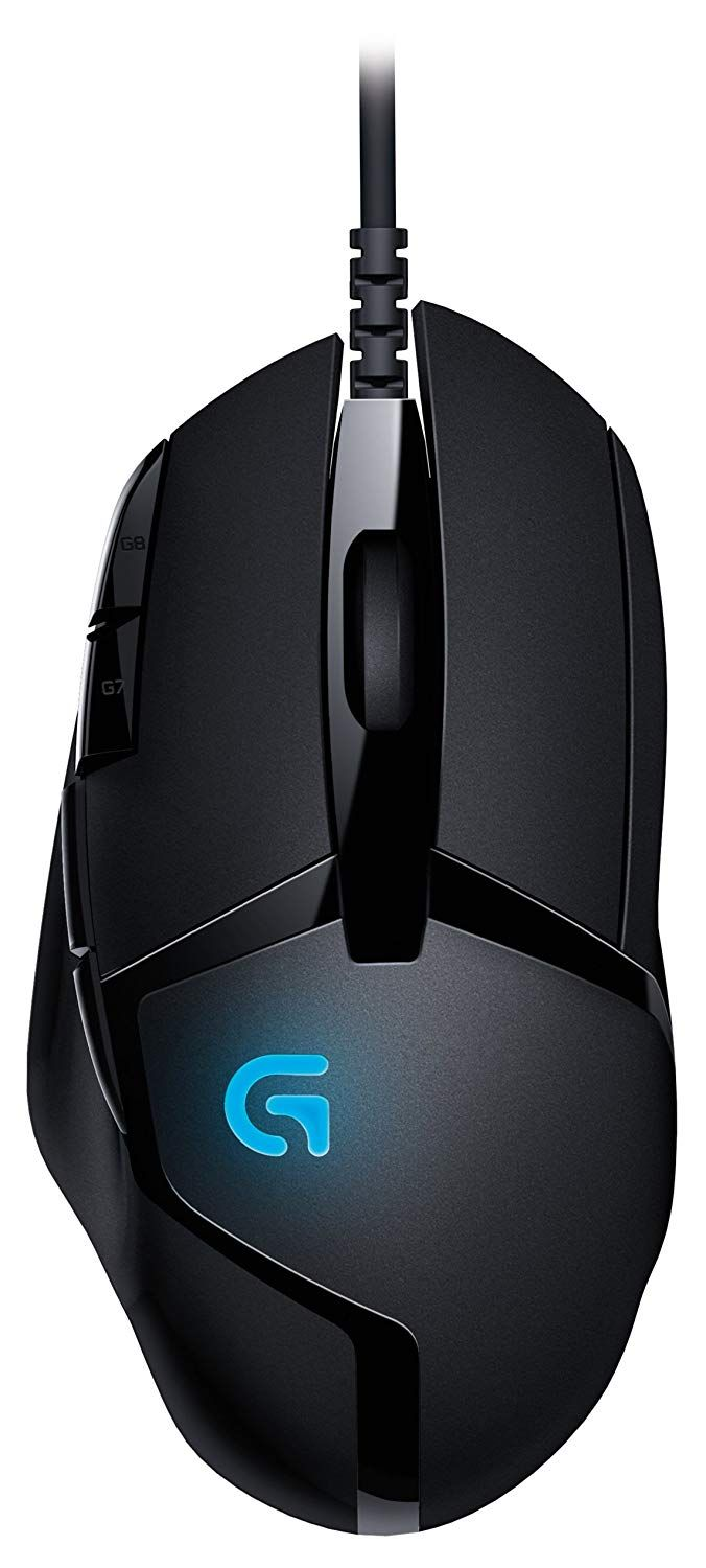 Logitech G402 Hyperion Fury Fps Gaming Mouse Responsiveness Usb Data Format 16 Bits Axis Usb Report Rate 1000 Hz 1ms Mic Gaming Mouse Logitech Gaming Mice