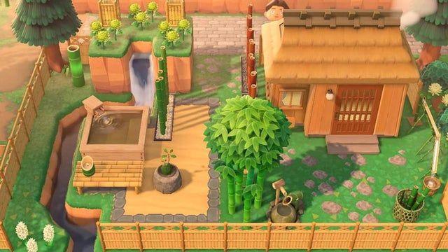 Gave Kabuki A New Yard Animalcrossingdesign Animal Crossing New Animal Crossing Animal Crossing Villagers
