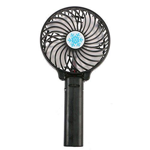 HuntGold pliable USB Mini ventilateur électrique rechargeable de poche bureau cadeau noir: A Professional portable fan with integration of…