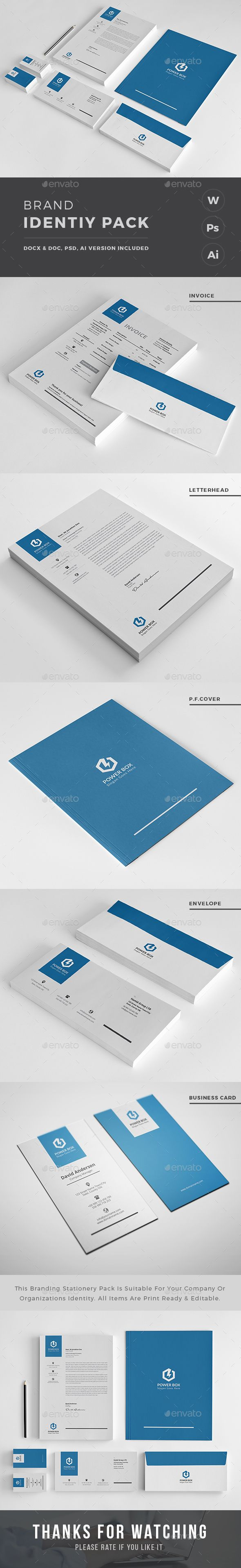 9 best Corporate Identity Pack images on Pinterest
