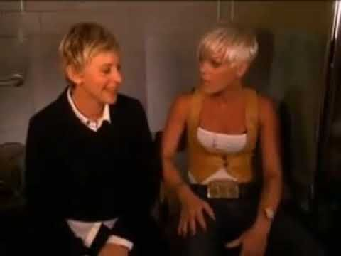 Pink And Ellen DeGeneres Very Funny Video Singing So What www.CristinaMunozBlog.com