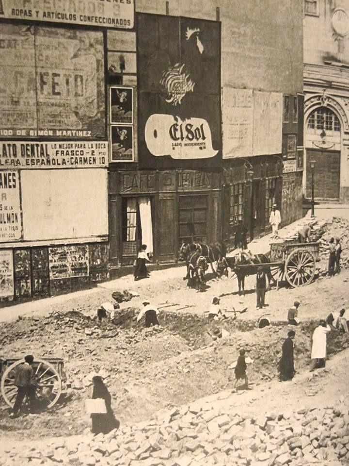 Plaza de Callao antes de la Gran Vía