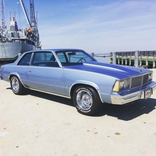1980 Chevrolet Malibu Blue Craigslist
