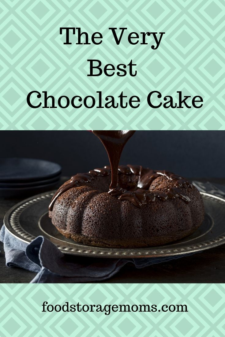 This Is A Really Moist Soft And Very Rich Chocolate Cake It Has Pudding Sour Cream And Ch Best Chocolate Cake Amazing Chocolate Cake Recipe Best Chocolate