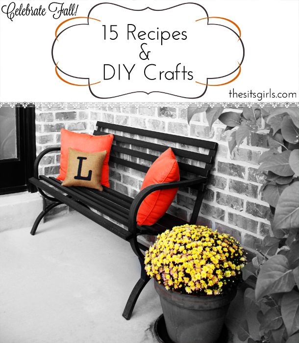 15 Fall Recipes and DIY Crafts To Do At Home
