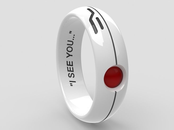 Portal Turret Ring wooooowza i want! Pity they dont exist....yet! ;)