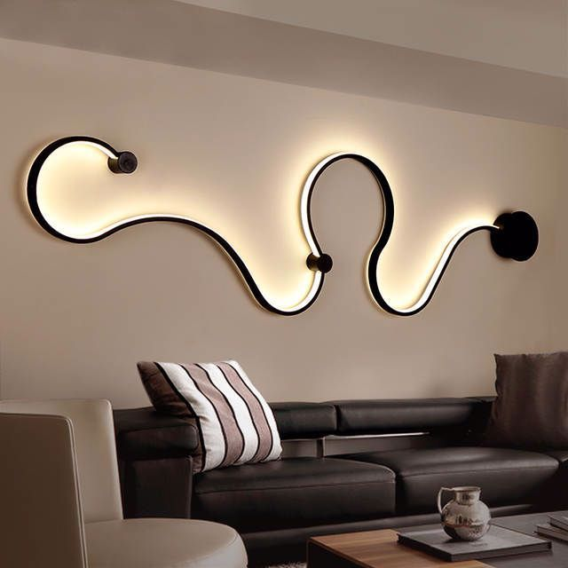 Moderne Minimalistischen Kreative Wand Lampe Schwarz Weiss Led Innen Wohnzimmer Schlafzimmer Nacht Wan In 2020 Wall Lamp Design Modern Wall Lamp Design Modern Wall Lamp