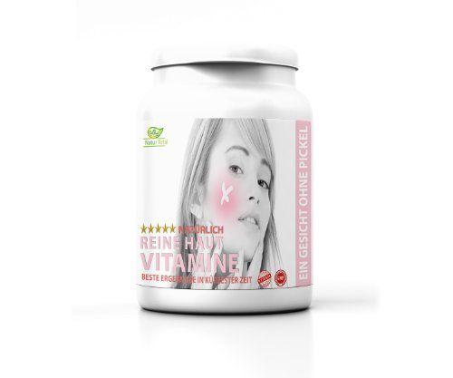 Nat�rlich reine Haut ohne Pickel 120 Tabletten gegen Pickel, Akne, Mitesser und unreine Haut.