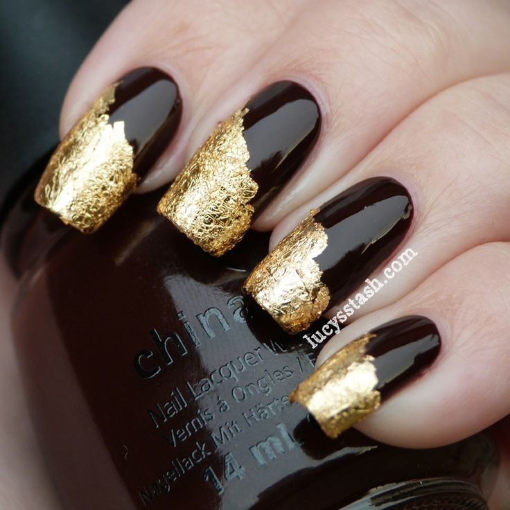 189 best badass nails images on pinterest nail designs make up nail art for beginners 2017 how to do transfer foil nail art prinsesfo Image collections