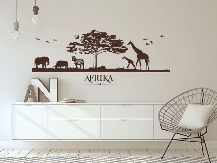 Die besten 25+ Wandtattoo afrika Ideen auf Pinterest Heute am - wandtattoos k che g nstig