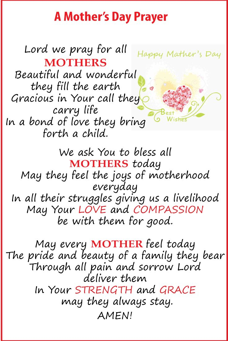 prayer for my mother | Places to Visit | Pinterest ...