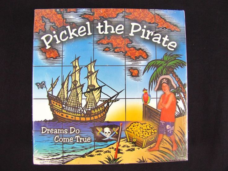 Pickel The Pirate Treasure Map To Knowledge Board Game Educational Home School #RickMaxwell