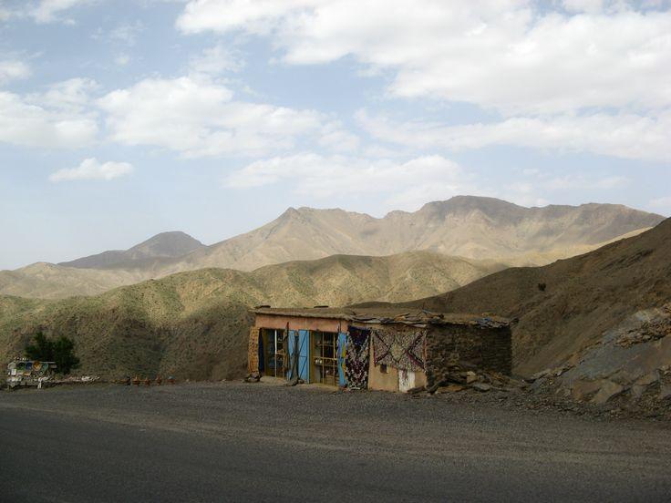 Morrocian tourist shop at the Atlas mountains #Morroco