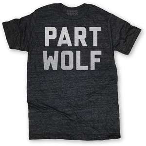 Part Wolf Tee Black, £16.50, now featured on Fab.