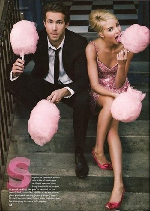 Wedding Ideas - Serve Cotton Candy - What a fun idea!