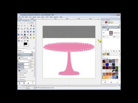 how to create vector graphics using gimp