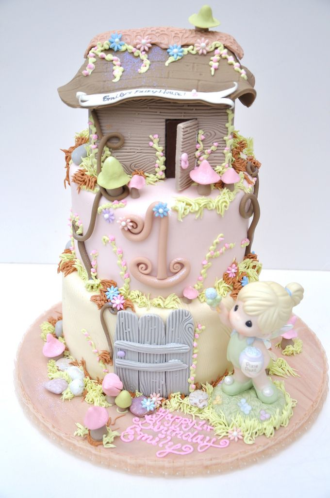 Fairy House Cake - Precious Moments