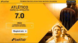 el forero jrvm y todos los bonos de deportes: betfair supercuota 7 Atletico gana Athletic Liga 2...