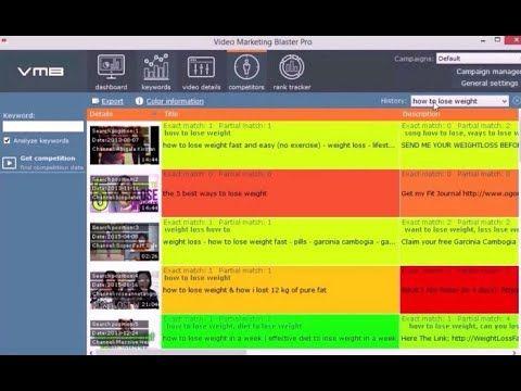 Video Marketing Blaster Pro Software - Video Marketing Blaster Pro
