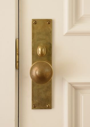 Unlacquered Brass Knob Reminds Me Of Grandparents House.