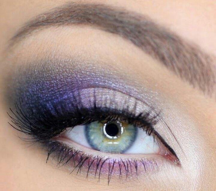 lavender, white,  dark plum