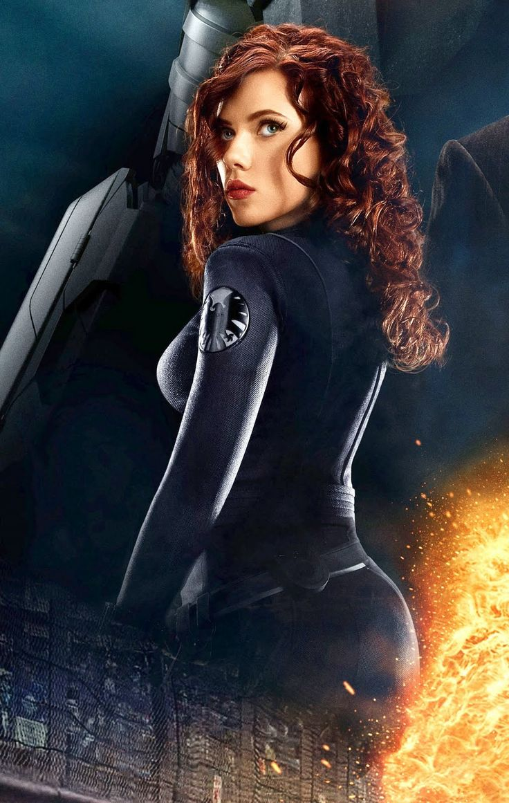 Black Widow: Scarlett Johansson! :P