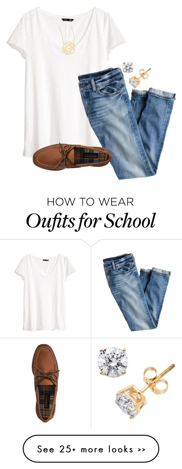 """go to school outfit"" by econgdon on Polyvore"