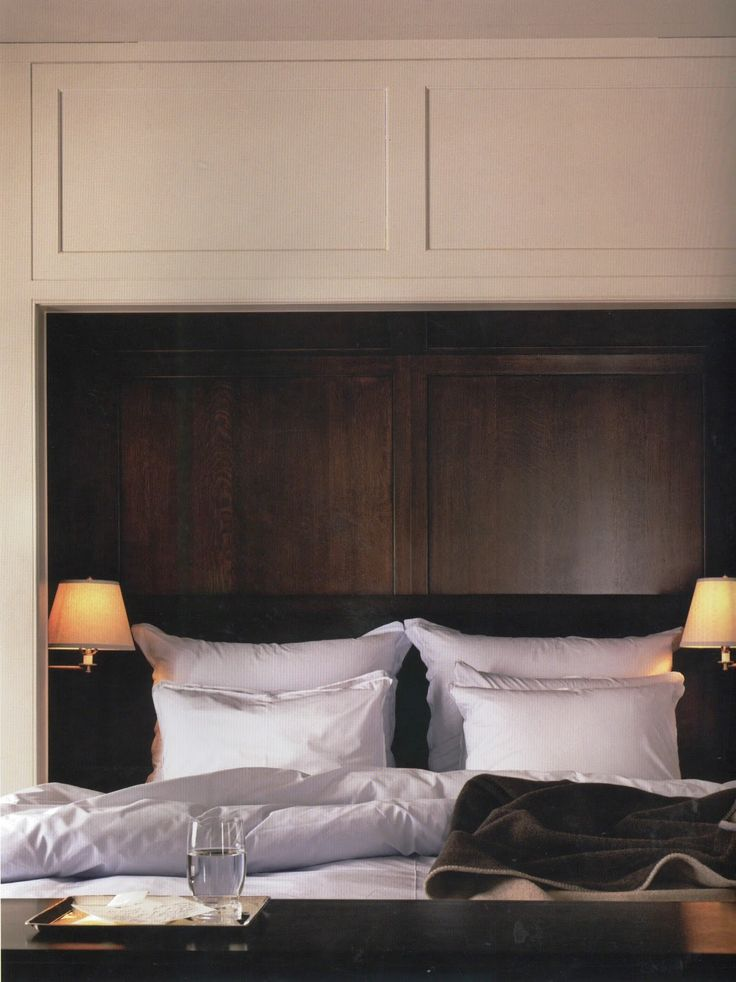 recessed headboard with lighting white and wood 10485 | 9e3d626439952d1e0eaa7a88654a1d84