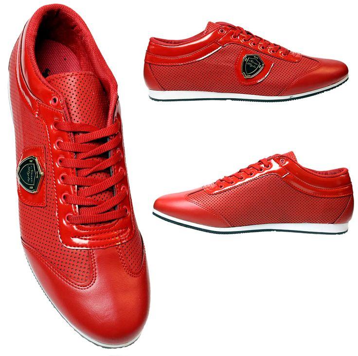 Heren Rode Sneaker met Glimmend Details HCS077 | Modedam.nlVallen NormaalDe mooiste heren schoenen bestelt u in onze winkel. Bij ons vindt u verschillende betaalbare sneakers, nette schoenen en sport schoenen. U vindt gegarendeerd de exclusieve schoenen die u outfit compleet maakt. Bekijk ons collec