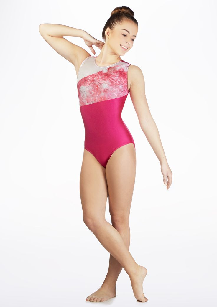 Alegra Girls Flare Sleeveless Leotard - Move Dancewear®