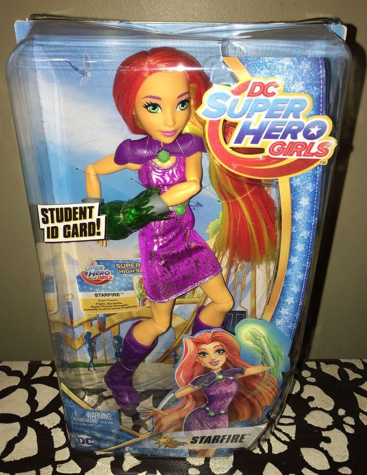 Starfire Joins 'DC Super Hero Girls' Toy Line! Full Review! #toys #dolls #teentitansgo #teentitans #youtube #dcsuperherogirls #superheroes #starfire