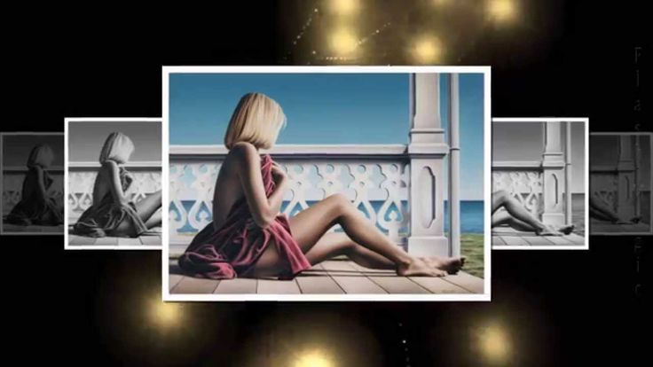 Прекрасный женский образ в живописи (Paul Kelley)
