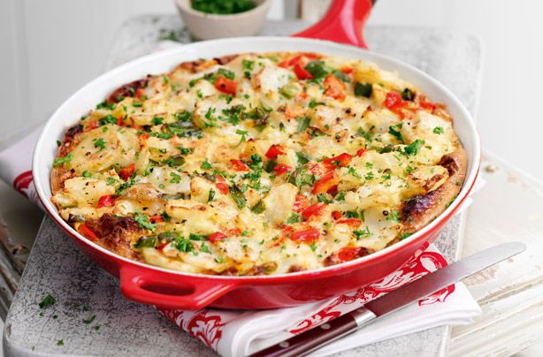 Slimming World's Spanish-style tortilla. Try adding other vegetables including courgettes.