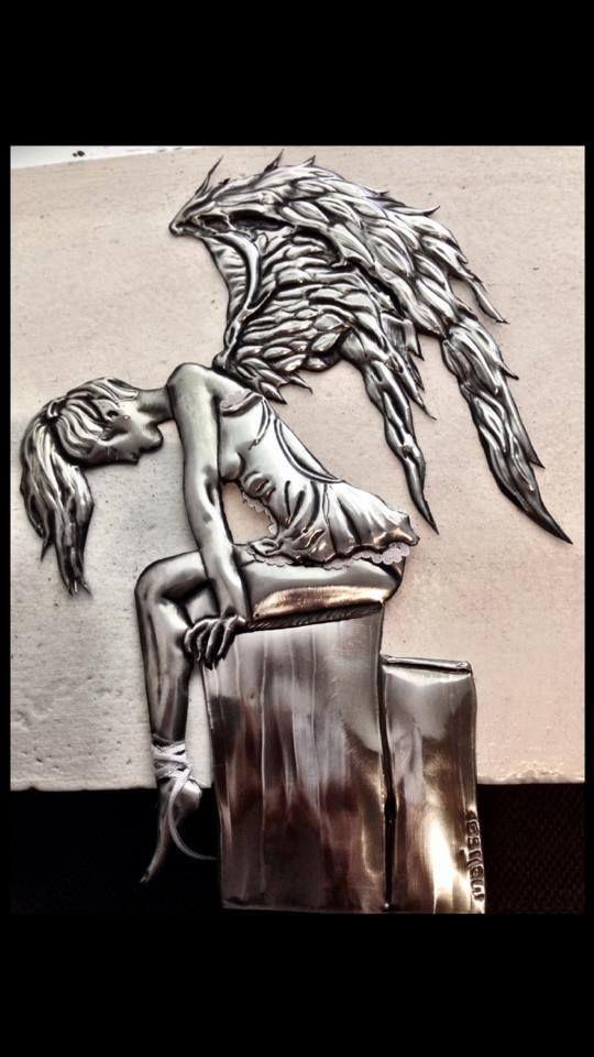 fallen Angel 1 www.facebook.com/pewterdesignbymelisa Melisa + 27 83 393 1313