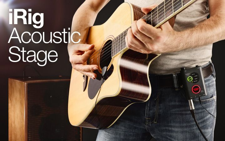 Irig Acoustic Stage Advanced Digital Microphone System For Acoustic Guitar Atores Musico