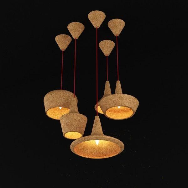 Des Luminaires En Liège Toujours Plus Tendances Suspensions Coupoles Carlo Trevisani