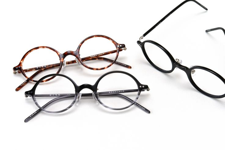 金子眼鏡 | KANEKO OPTICAL - 繊細なフレームワークの丸眼鏡 金子眼鏡 「KC-40」...