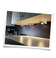LED kitchen cabinet underlighting