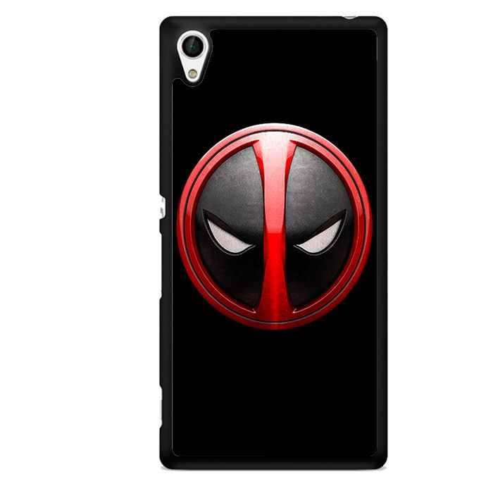 Deadpool Emblem TATUM-3096 Sony Phonecase Cover For Xperia Z1, Xperia Z2, Xperia Z3, Xperia Z4, Xperia Z5