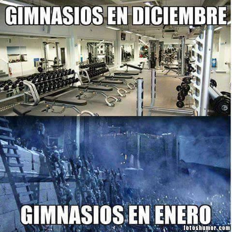 Memes de gimnasios