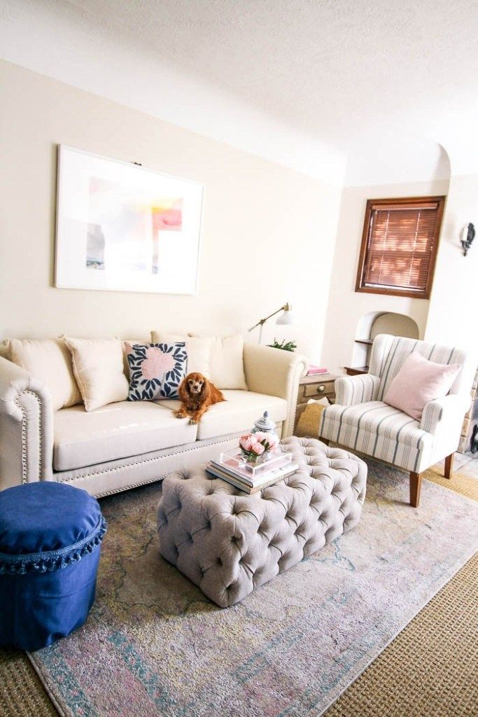 Budget Living Room Makeover At Home With Ashley Simple Room